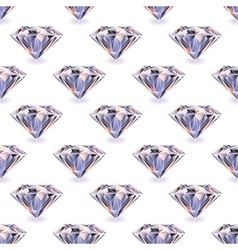 Diamond seamless repeat vector image vector image