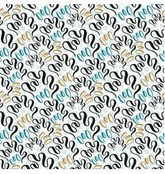 seashell seamless pattern fashion texture vector image vector image
