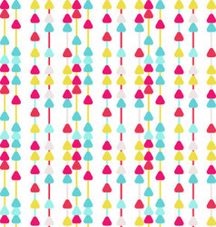Seamless Arrow Background Patterntriangle pattern vector image vector image