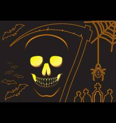 background halloween vector image vector image