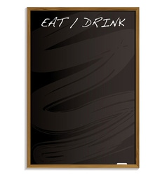 Eat and drink menu vector image vector image