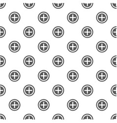 plus pattern seamless vector image