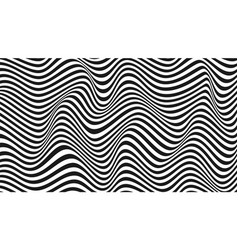 Abstract wavy twisted background pattern from vector
