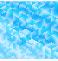 Blue poligonal background vector