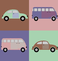 Car bus vector