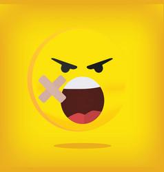 emoji emoticon smiley vector image