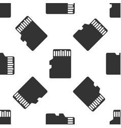 Micro sd memory card icon seamless pattern vector