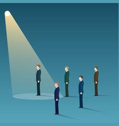 Talent recruit concept vector