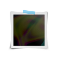 Instant photo frame retro photo frame vector