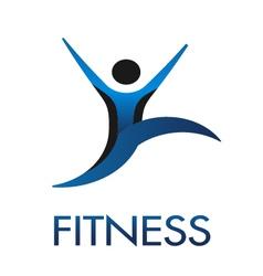 Fitness Guy logo vector image