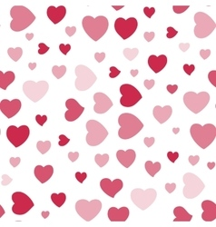 Background with Hearts vector