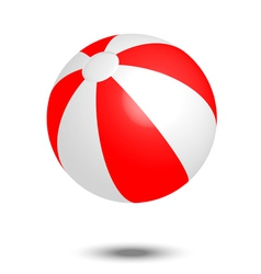 Beach ball vector