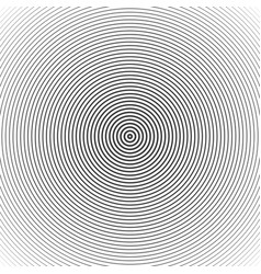 Concentric circle elements vector