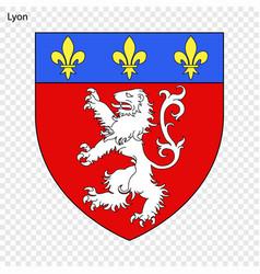Emblem lyon vector