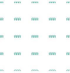 garage icon pattern seamless white background vector image