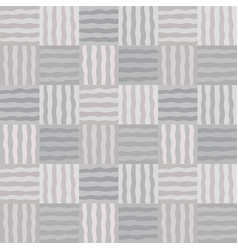 Monochrom mosaic patchwork seamless pattern vector