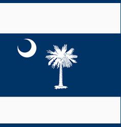 National flag south carolina vector