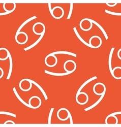 Orange Cancer pattern vector