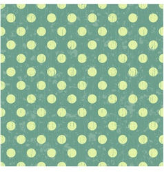 seamless retro dot pattern background vector image vector image