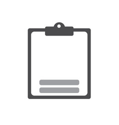 checklist icon flat icon for apps and websites vector image