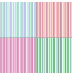striped backgrounds vector image
