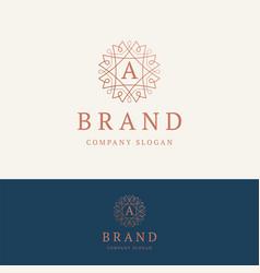 A brand logo vector