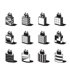 decoration architectural column vector image