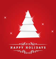 Holidays greeting vector