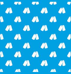 paintball sport badge pattern seamless blue vector image