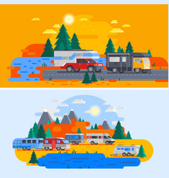 Recreational vehicles composition vector
