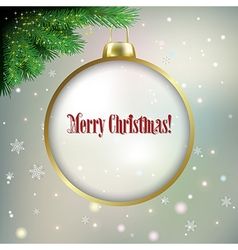 Abstract background with white Christmas vector image vector image
