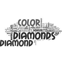 A gem of a color text word cloud concept vector