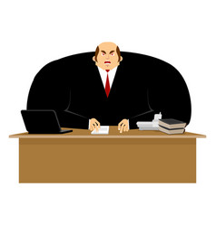 big boss angry great boss is wicked business vector image