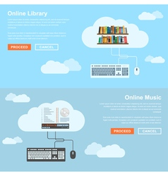 Online services vector
