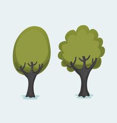 Tree clip art 2 vector