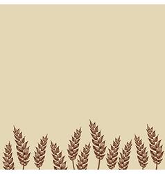 Wheat Bakery design vector image
