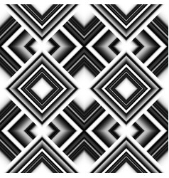 seamless pattern of rhombuses vector image
