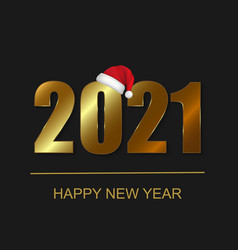 2021 new year background festive premium design vector image