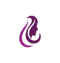 Beauty Women Icon Logo Template vector