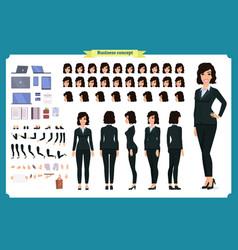 businesswoman character designbusiness girl vector image