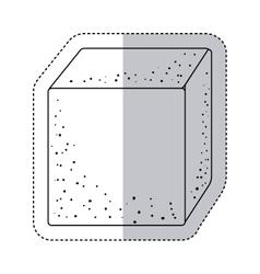 Isolated sugar square design vector