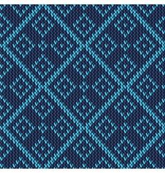 knitting ornament vector image
