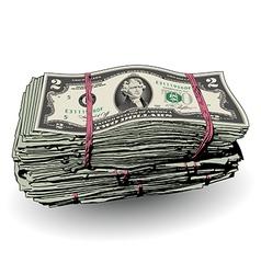 Money Bundle two vector