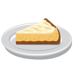 New york cheesecake vector