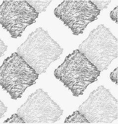 Pencil hatched dark and light gray squares vector