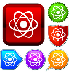 Set shiny icon series on buttons atomic vector
