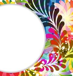 Transparent exotic background vector