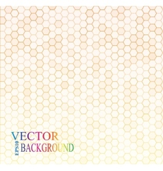 Seamless texture gray hex grid vector image