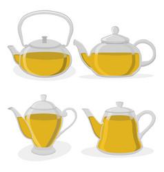 the tea vector image vector image