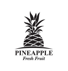 Pineapple fruit image vector